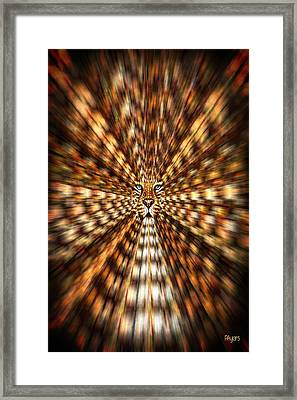 Animal Magnetism Framed Print