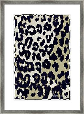 Animal Print  Framed Print by Mindy Sommers