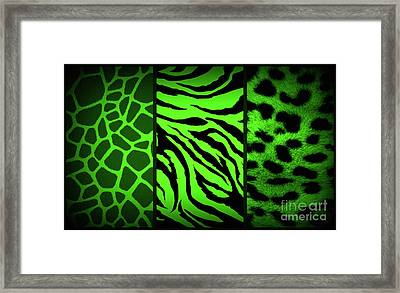Animal Prints Framed Print