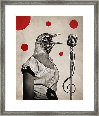 Animal16 Framed Print by Francois Brumas