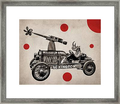 Animal22 Framed Print by Francois Brumas
