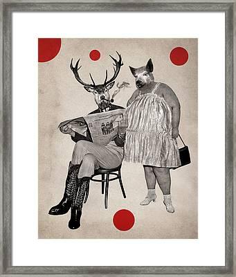 Animal3 Framed Print by Francois Brumas