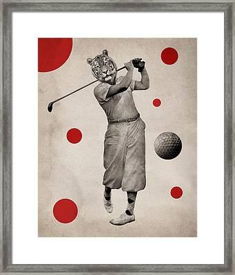 Animal6 Framed Print by Francois Brumas