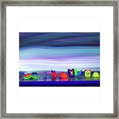 #animalitos Daughter Made For Cus Framed Print