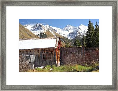 Animas Forks Framed Print by Eric Glaser