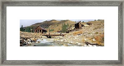 Animas Forks Ghost Town, Colorado Framed Print by Panoramic Images