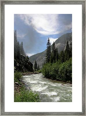 Animas River Framed Print by Jared May