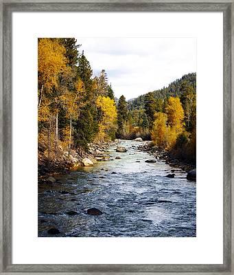 Framed Print featuring the photograph Animas River by Kurt Van Wagner