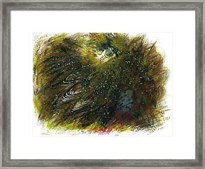 Animism Essence #125 Framed Print by Rainbow Artist Orlando L aka Kevin Orlando Lau