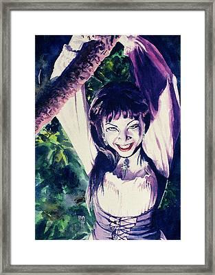 Anissa Framed Print by Ken Meyer
