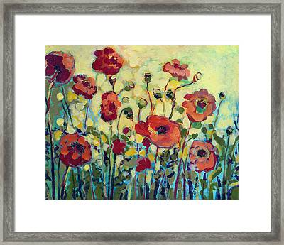 Anitas Poppies Framed Print