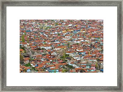 Ankara Framed Print by Kobby Dagan