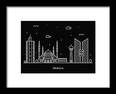 Turkiye Framed Prints