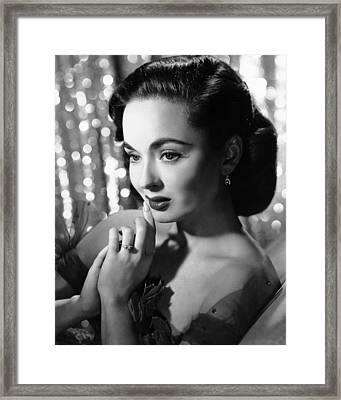 Ann Blyth, Ca. 1950s Framed Print by Everett
