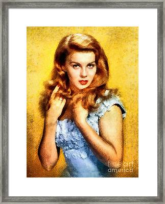 Ann-margert, Vintage Hollywood Actress Framed Print by John Springfield