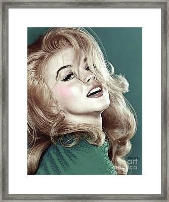 Ann Margret, Patio Diet Cola, Bye, Bye Birdie, Sterling Cooper Pryce, Mad Men Framed Print