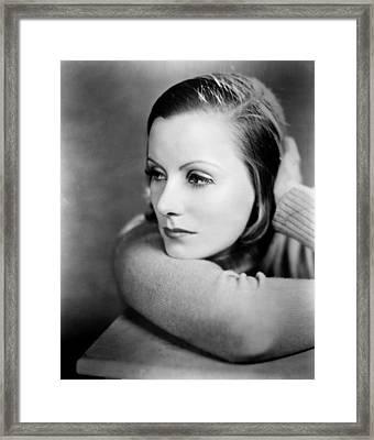 Anna Christie, Greta Garbo, 1930 Framed Print