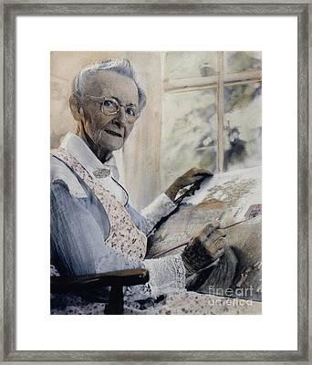 Anna Mary Robertson Framed Print