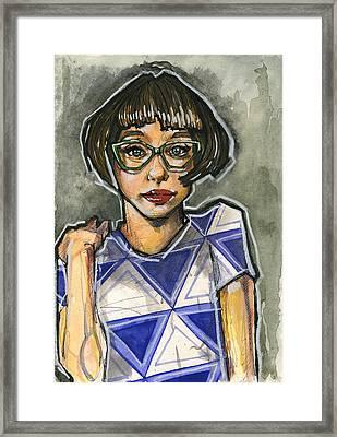 Anna Framed Print by Rob Tokarz