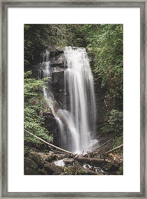 Anna Ruby Falls Framed Print by David Collins