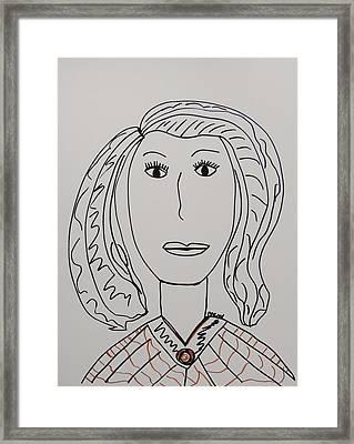 Anna Ruth Framed Print