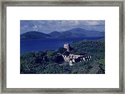 Annaberg Ruins And Sugar Mill Framed Print by Don Kreuter