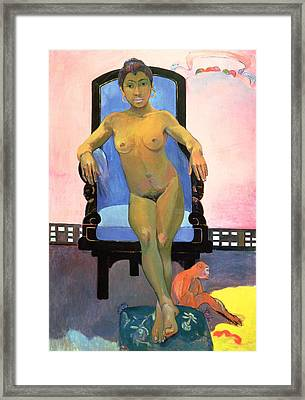 Annah The Javanese Framed Print by Paul Gauguin
