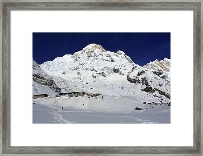 Annapurna South View Framed Print
