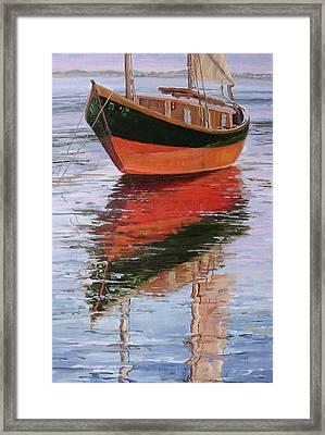 Anna's Tide Come In Framed Print