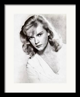 Anne Francis Paintings Framed Prints