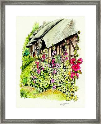 Anne Hathaway Cottage Framed Print by Morgan Fitzsimons