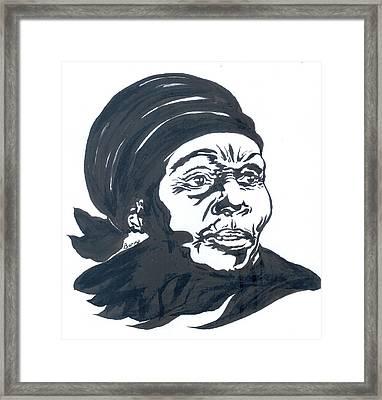 Anne Marie Nzie 01 Framed Print
