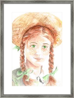 Anne Of Green Gables Framed Print