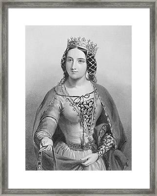 Anne Of Warwick, Anne Neville Framed Print