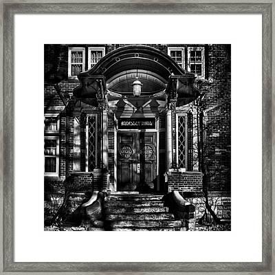 Annesley Hall Entrance  #toronto Framed Print
