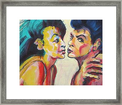 Annette And Frankie Framed Print