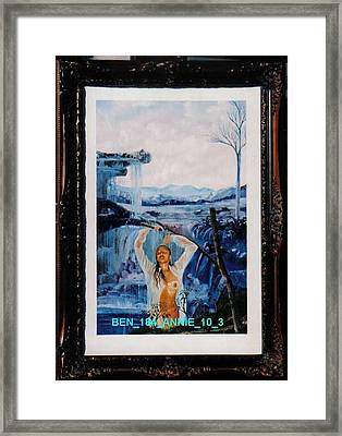 Annie 10-3 Framed Print by Benito Alonso