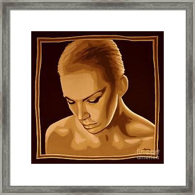 Annie Lennox Framed Print