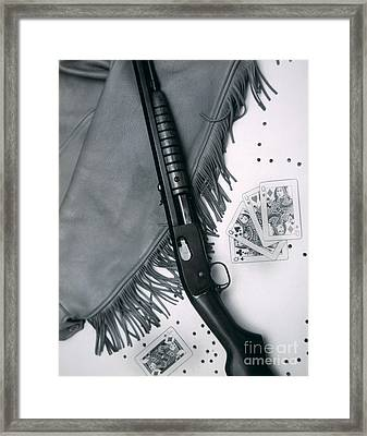 Annie Oakley's Remington Rifle Framed Print