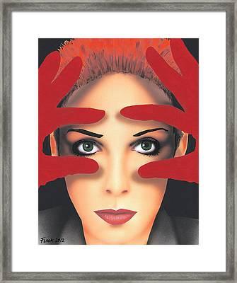 Annie Framed Print by Randy Flook