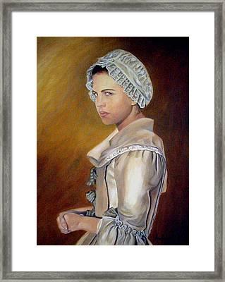 Annilise Framed Print