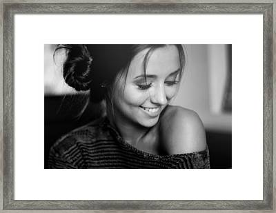 Annini Framed Print by Johnny  Story
