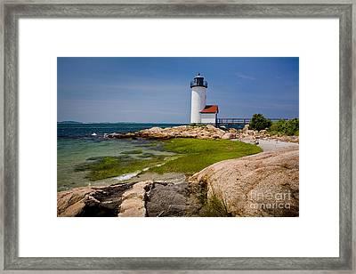 Annisquam Harbor Light Framed Print