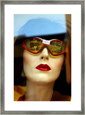 Annita Framed Print by Jez C Self