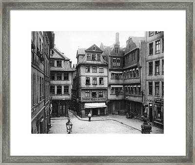 Anno 1900 Framed Print
