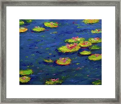 Ann's Pond IIi Framed Print by Vernon Reinike