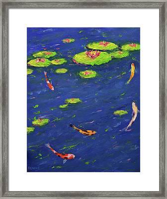 Ann's Pond Iv Framed Print by Vernon Reinike