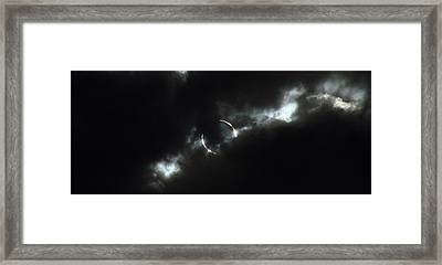 Annular Eclipse Ring Of Fire 2012 Framed Print by Scott McGuire