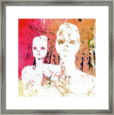 Annunaki - The Shining Ones By Raphael Terra Framed Print