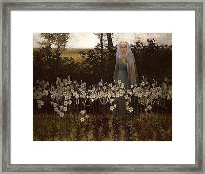 Annunciation Framed Print by Mountain Dreams